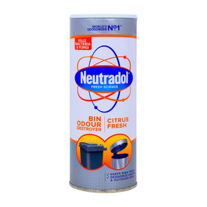 Neutradol Fresh Science Dust Bin Odour Citrus Fresh 350g