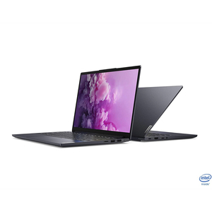 "Lenovo Yoga Slim 7, Intel Core i7-1065G7, 14"" FHD, 16 GB RAM, 1TB SSD, Nvidia MX350 2GB, Eng-Arb, Windows 10 Home, Slate Grey-[82A100DDAX]"