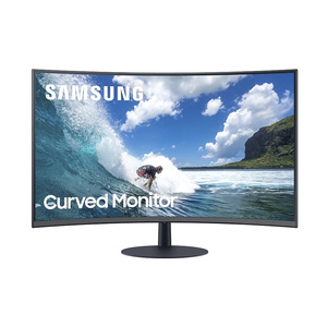 "Samsung 24"" Curved Monitor with optimal curvature 1000R LC24T550"