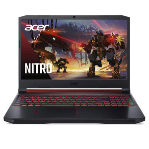 "Acer Nitro 5 Gaming Laptop(NG-AN515-55-74Z6), 10th Gen Intel Core i7-10750H,4 GB NVIDIA® GeForce® GTX 1650,15.6"" FHD Acer ComfyView IPS LED LCD Display, 16GB DDR4, 256 SSD+1 TB HDD,Black"