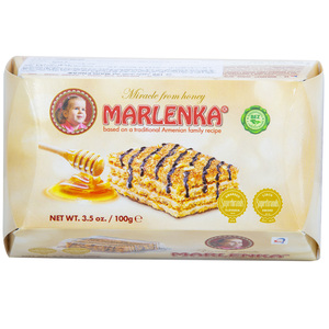 Marlenka Honey Walnut Cake 100g