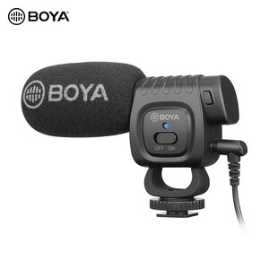 Boya Compact On Camera Shot Gun Microphone BY-BM3011