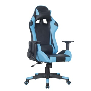 Maple Leaf Gaming chair- 1 Blue/Black