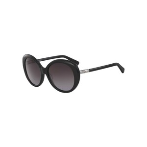 Longchamp Women's Sunglass 600S57 Butterfly Black