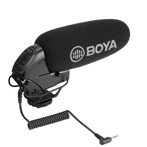 Boya Directional On Camera Shot Gun Microphone BY-BM3032