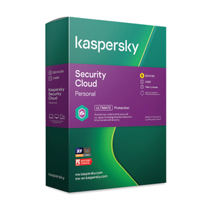 Kaspersky KSCP2021 Security Cloud Personal 2021-5 Users