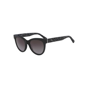 Longchamp Women's Sunglass 602S54 Tea Cup Marble Black