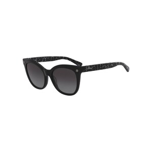 Longchamp Women's Sunglass 615S55 Butterfly Black