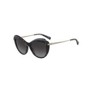 Longchamp Women's Sunglass 617S55 Cat Eye Marble Grey