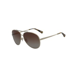 Longchamp Unisex Sunglass 104S61 Aviator Gold Rose