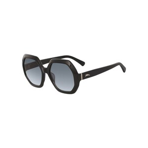 Longchamp Women's Sunglass 623S55 Square Ebony
