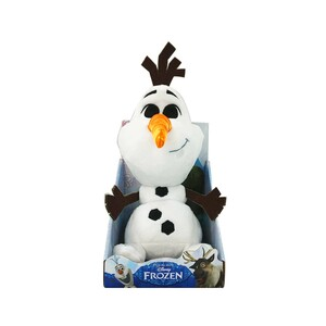 Disney Plush Cute Face Frozen Olaf White 10