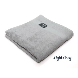 Cannon Cotton Bath Towel 70x140cm Light Grey