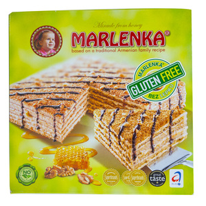 Marlenka Honey Walnut Cake Gluten Free 800g