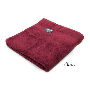 Cannon Cotton Bath Towel 70x140 Claret