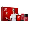 Cristiano Ronaldo CR7 Red EDT Gift Set for Men 100ml + Aftershave Balm 100ml + Deodorant Stick 75gm