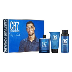Cristiano Ronaldo CR7 Play It Cool EDT Gift Set for Men 100ml + Shower Gel 150ml + Deodorant 150ml