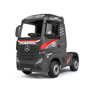 Benz Actros LX-358 Kids Ride On Electric Toy Car Assorted Color