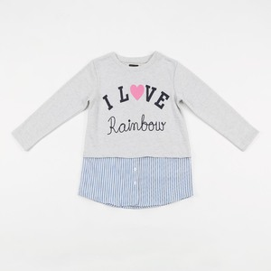 Reo Kid Girl Sweatshirt D9KG110A Grey