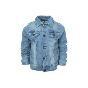 Eten Boys Denim Jacket Long Sleeve PKDNM-1 Ice Blue 3-4Y