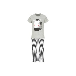 Eten Boys Pyjama Set Short Sleeve Grey White PYVJO-01