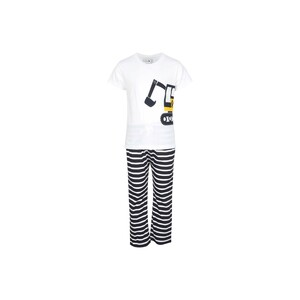 Eten Boys Pyjama Set Short Sleeve White Navy PYVJO-03