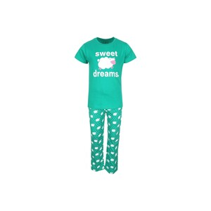 Eten Boys Pyjama Set Short Sleeve Green PYVJO-04