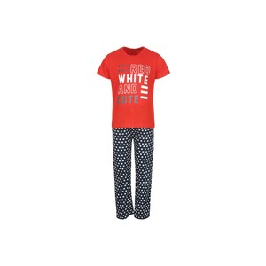 Eten Boys Pyjama Set Short Sleeve Red Navy PYVJO-06