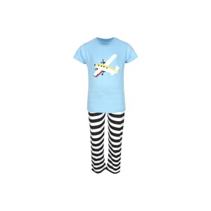 Eten Boys Pyjama Set Short Sleeve Sky Black PYVJO-08