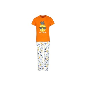Eten Boys Pyjama Set Short Sleeve Orange White PYVJO-09
