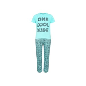 Eten Boys Pyjama Set Short Sleeve Mint Navy PYVJO-11