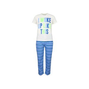 Eten Boys Pyjama Set Short Sleeve Offwhite Royal PYVJO-15
