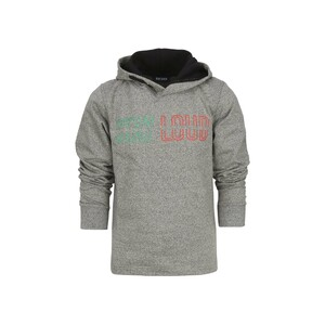 Blue Seven Boys Sweat Shirt With Hood Long Sleeve 670101 Grey