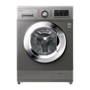 LG Front Load Washer & Dryer FH4G6TDG6 8/5KG, Motion Direct Drive, Steam Technology, Smart Diagnosis™