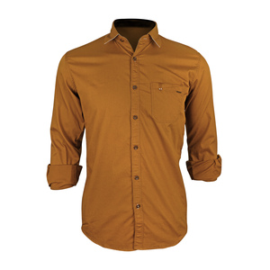 Sunnex Mens Casual Shirt Long Sleeve FSS-PL-4018