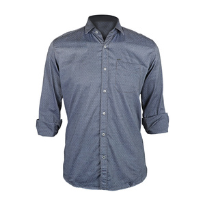 Sunnex Mens Casual Shirt Long Sleeve FSS-PL-4020