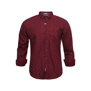Sunnex Mens Casual Shirt Long Sleeve FSS-PT-5036