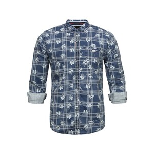 Sunnex Mens Casual Shirt Long Sleeve FSS-DN-3025