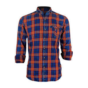 Sunnex Mens Casual Shirt Long Sleeve  FSS-DN-3036