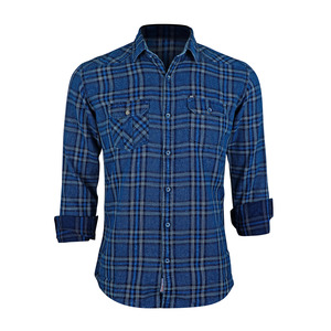 Sunnex Mens Casual Shirt Long Sleeve  FSS-DN-3035