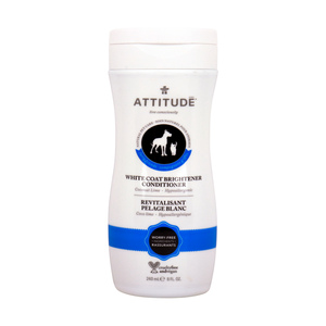 Attitude Pet Conditioner White Coat Brightener 240ml