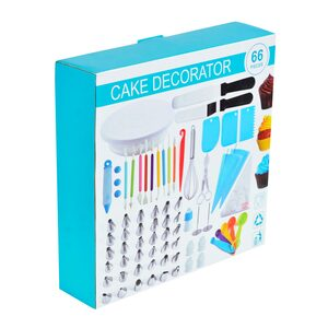 Top Line Cake Decorating Set CDS66A6 66Pcs