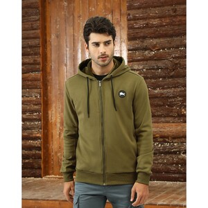 Marco Donateli Men's Sweat Shirt Hooded WSL57446A Olive
