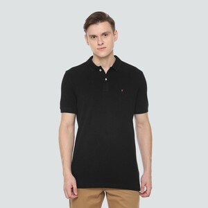 LP Youth Men's Polo T Shirt Short Sleeve LYKPCSLBY04494 Black