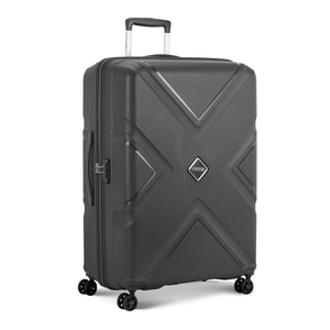 American Tourister Kross 4Wheel Hard Trolley 55cm Grey Color