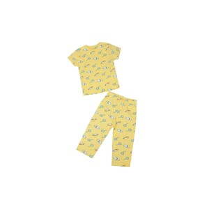 Eten Infants Boys Pyjama Set Short Sleeve Yellow SCCIBPSS02