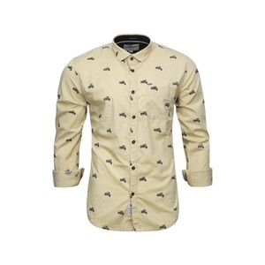 Sunnex Mens Casual Shirt Long Sleeve FSS-PT-5025