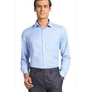Peter England Men's Formal Shirt Long Sleeve PSF1041601448 Sky Blue 39