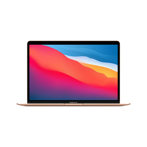 "Apple MacBook Air 13""(MGNE3AB/A), Apple M1 chip with 8-core CPU and 8-core GPU, 512GB - Gold"