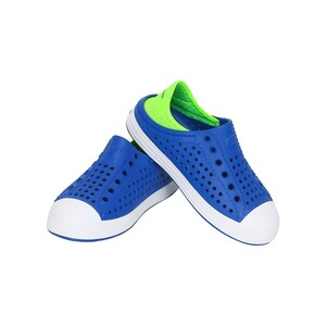 Skechers Boy Sport Shoe 91995L.Blue Lime